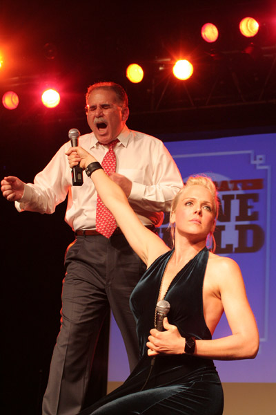Storm Large & Allen Alley at Candidates Gone Wild, Fall '08