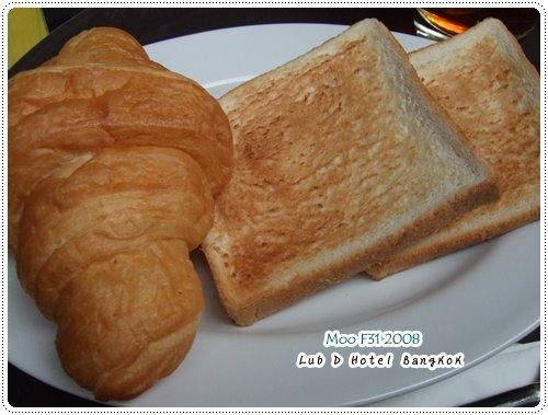 Lub d Hotel-麵包