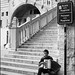 Music sitting on the Stairs of Reason (Salvatore Falcone)
