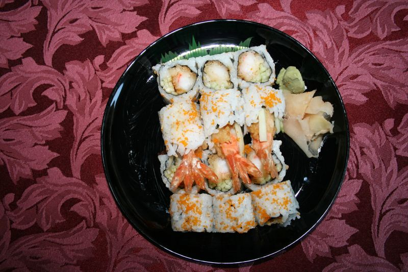 Tempura Roll - from top