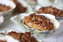 Baked Oysters with Chanterelles
