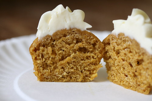 Pumpkin Spice Cake with Honey Frosting (Everyday Food)
