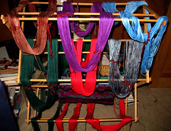 Cotton Yarn Dyed & Drying