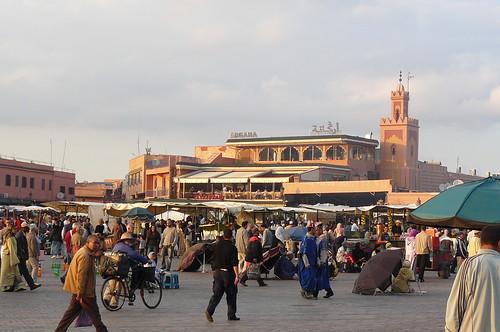 Marrakech en Marruecos