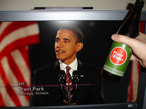 a beer for the next president