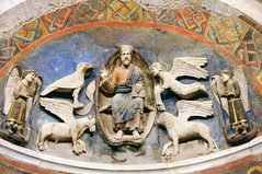 Battistero di Parma, interno, nicchione I