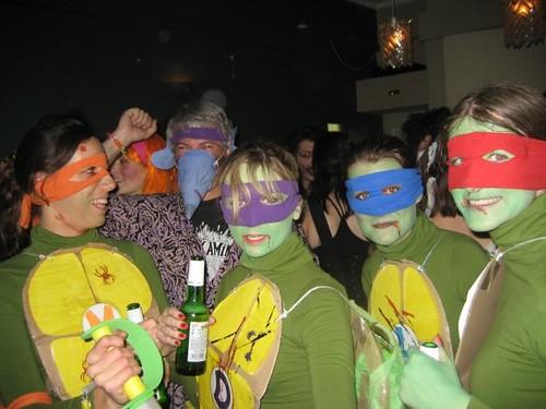 Teengae Mutant Ninja Turtles and Master Splinter