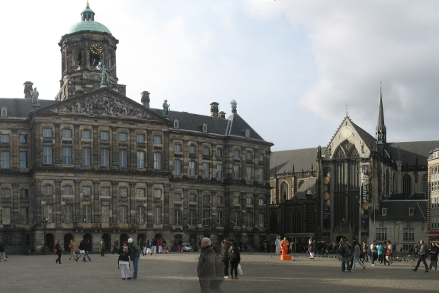 The Dam (De Dam) in Amsterdam