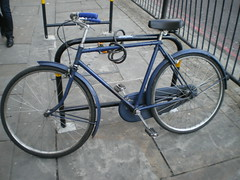 Locked Bikes In London