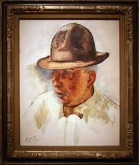 Theodore Dreiser, 1933 by Henry Varnum Poor, O...