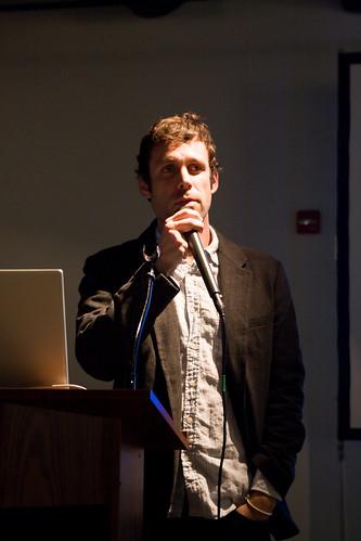Dan Rubin speaking at ADCMW