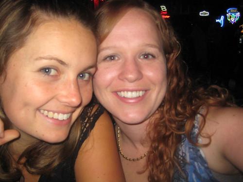 Con mi amiga Mira