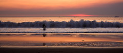 el segundo beach (Daryl's World TTL) Tags: ocean sunset surf elsegundobeach smokeysunset
