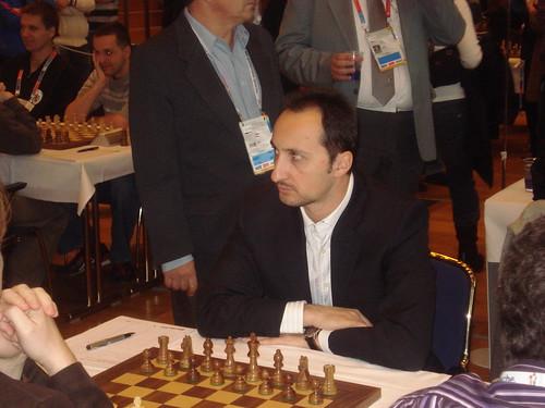 El gran mestre de Bulgària Veselin Topalov