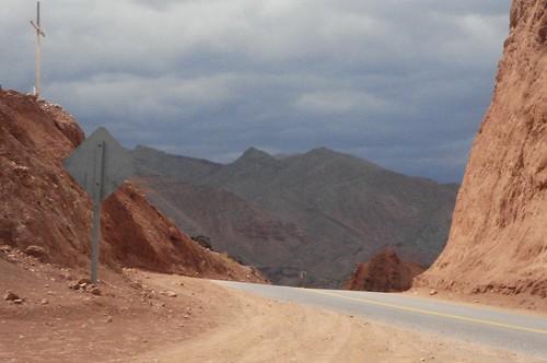 Quebrada road