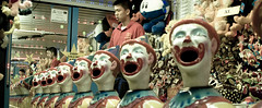 send in the clowns.jpg (TheDukeofCuffs) Tags: carnival toronto ontario canada game cne prizes clowns
