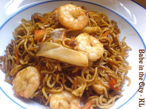 Simple Stir-Fried Noodles