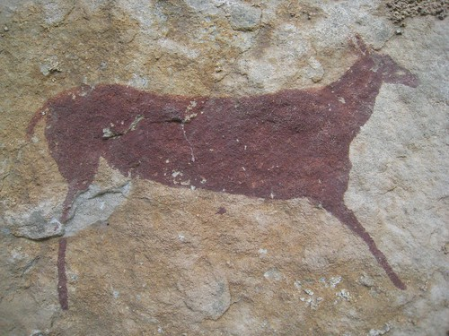 Depiction of an Eland