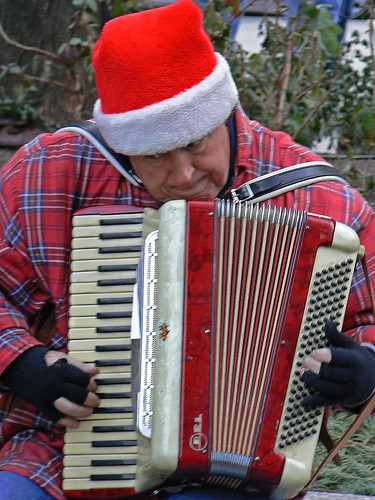 Christkindlmarkt - accordian