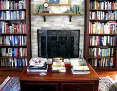 A Home Is Not A Home (nbklx17 (Sandy)) Tags: home design fireplace colorful books livingroom decor bookshelves cottagestyle shelves interiordesign homesweethome myeverydaylife bookcollection interiordecor ilovebooks explored ilovetoread