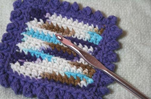Small Crochet Dishcloth/Washcloth