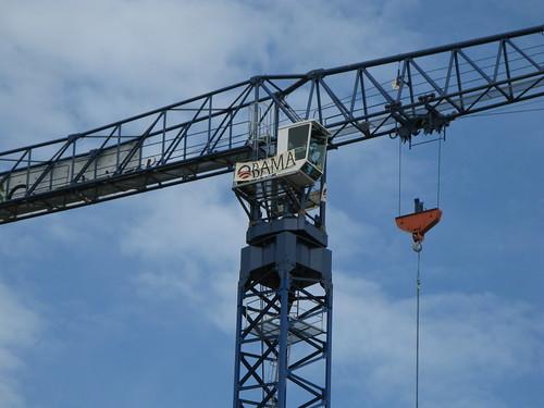 OBAMA crane