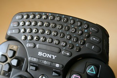 PlayStation 3 Wireless Keypad - Close Up
