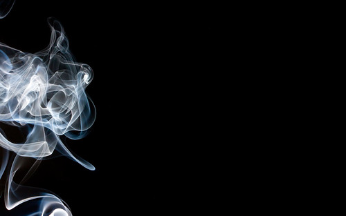 Incense Smoke In The Dark Abstract Windows Wallpapers