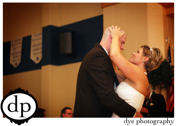 first dance with head rub