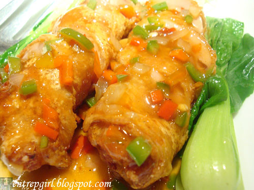 Super Bowl mandarin chicken