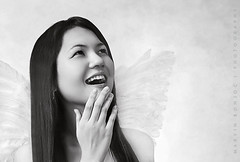 Laughing Angel (mab888) Tags: angel blackwhite cebu kirstie inspiredbylove cebusugbo flickrsbest mywinners aplusphoto elitephotography 2008photos philippinephotographicsociety bestofcebu shoottagayclub photographersclubofcebu
