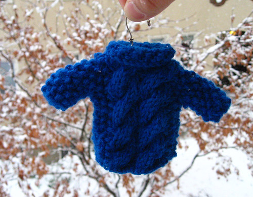 Mini Sweater Ornament