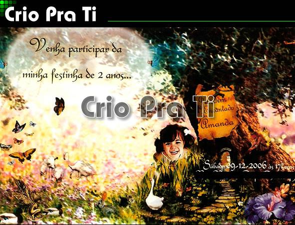 Jardim Encantado by Crio Pra ti