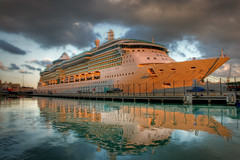 Brilliance of the Seas (Andrew.gd) Tags: cruise light sea seascape reflection boat nikon ship waterfront malta nikond50 explore maltese hdr 1870mm valletta flickristi flickristiselect
