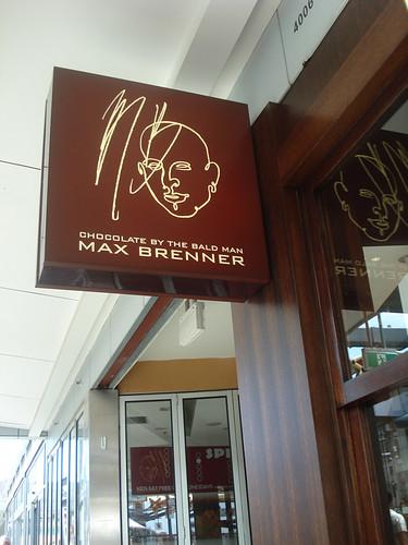 Max Brenner in Blacktown!!! :)