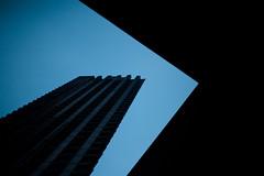 Barbican twilight (morf*) Tags: uk england architecture concrete twilight modernism barbican brutalism brutalist barbicanarchitecturelondontwilightbluemodernismlondon towelondon towerblockbarbicanarchitecturelondontwilightbluemodernism