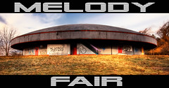 Melody Fair Exterior (Scallop Holden) Tags: urban abandoned buffalo north rusty fair explore melody explorers exploration urbex tonawanda