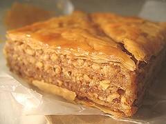 Baklava from Todd's Mom (sarah j gim) Tags: food baking baklava