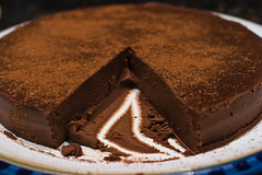 Chocolate Truffle Cake (Skink74) Tags: food 20d cake dessert chocolate pudding truffle eos20d nikkor35f14 nikkor35mm114ai