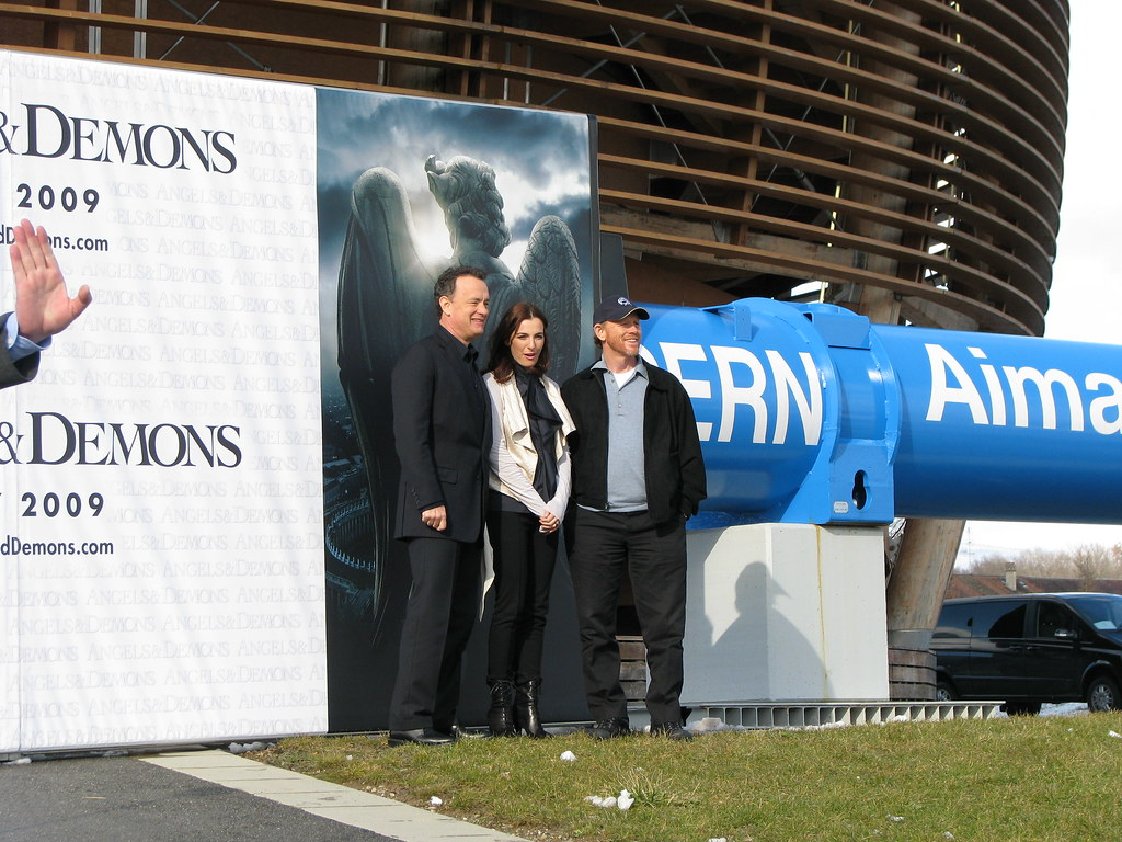 Ángeles y Demonios Tom Hanks CERN