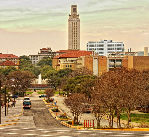 University of Texas at Austin - evening