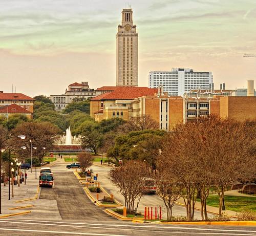 University of Texas at Austin - evening