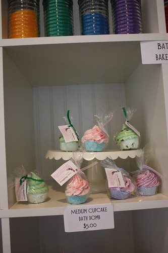 Cupcake Bath Bombs - Aprons at The Sweet Tooth Fairy (Provo, Utah)