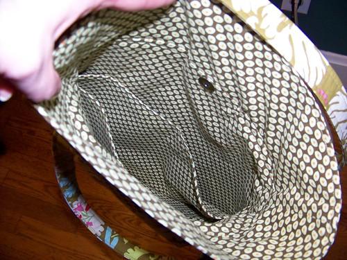 AB purse inside