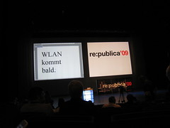 re:publica '09 - Day 1: WLAN kommt bald!