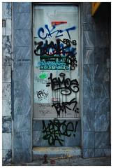 Crushed (Trouble Me) Tags: sf california ca street city urban streets st graffiti bay nikon san francisco downtown chinatown beef tags 3a zeus area vandalism graff jam tagging krk ckt jamer btm verns d40 bvrs keptoe