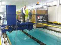 Southampton Solent Uni, Towing Tank, Project Anaconda