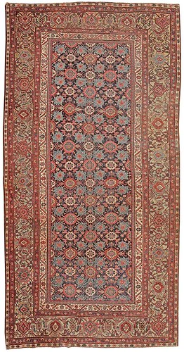 Farahan Persian Rug #43960 by Nazmiyal Collection