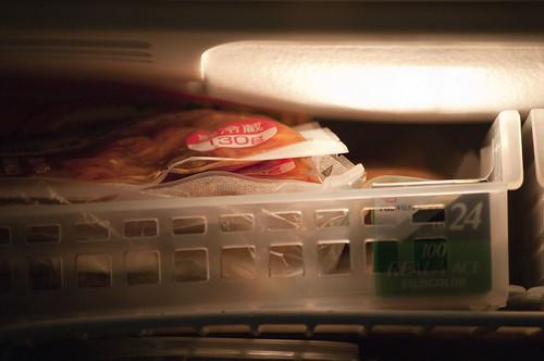 なぜかREALAが冷蔵庫に