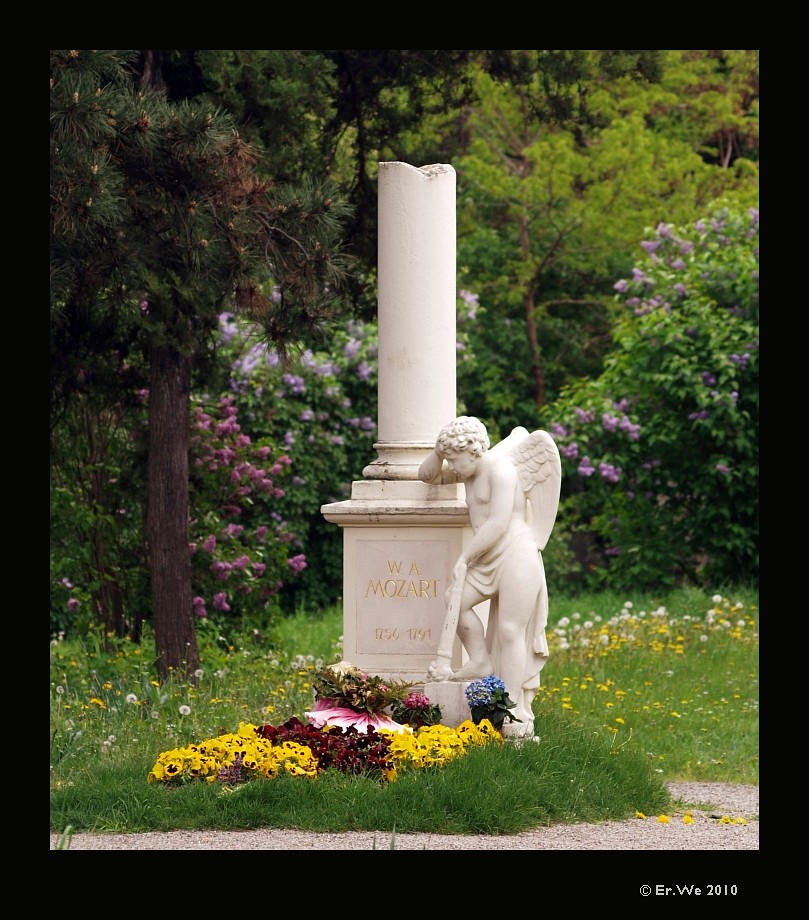 Mozarts grab am St. Marxer friedhof
